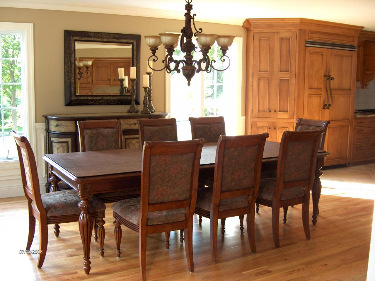 Elegant dining room sets home designer for Dining room furniture designs